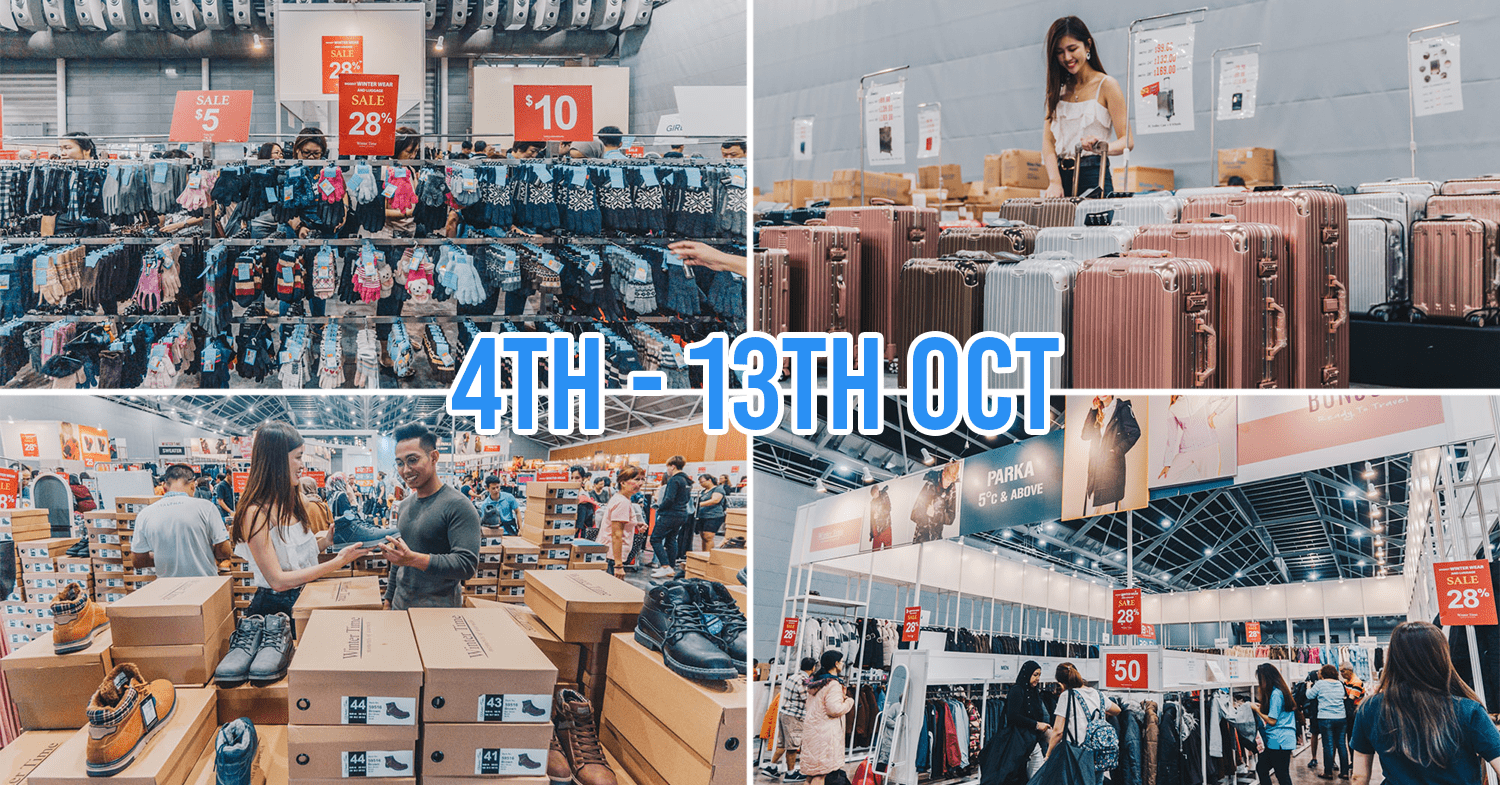 Winter Time Expo Sale 2019 Anniversary Singapore
