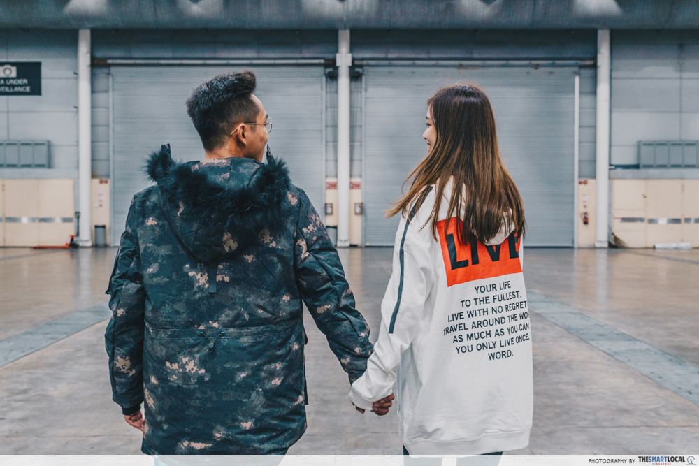 Winter Time Expo Sale 2019 Anniversary Couple Wear