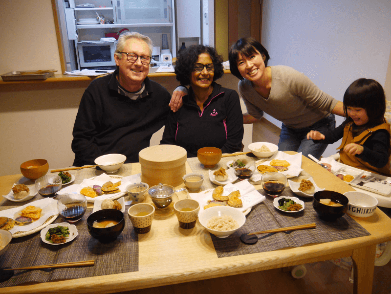 airKitchen Osaka Authentic Japanese Home Cooking Class