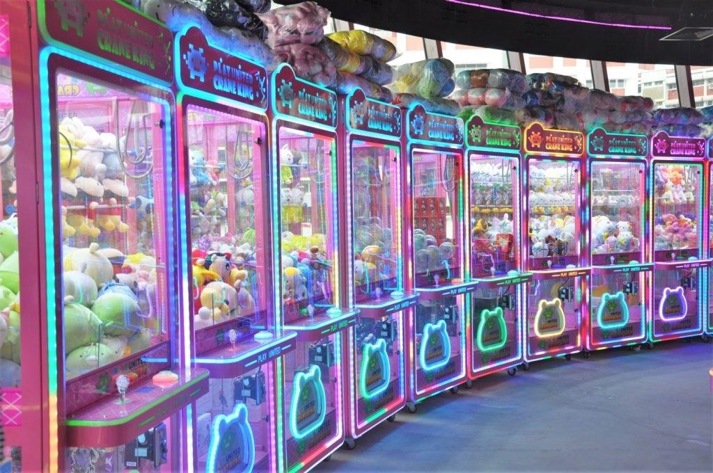 claw machine arcades 2019 play united