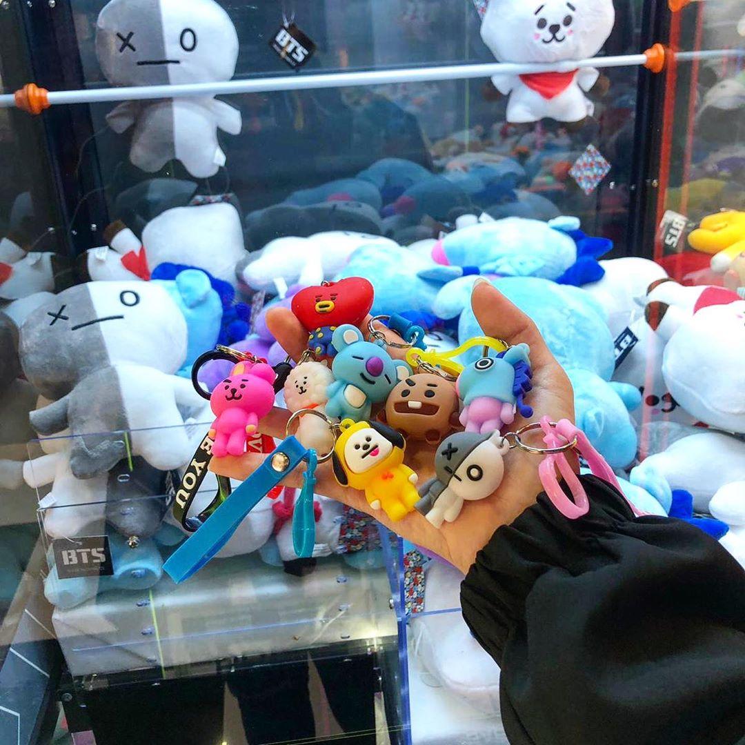 claw machine arcades 2019 bt21