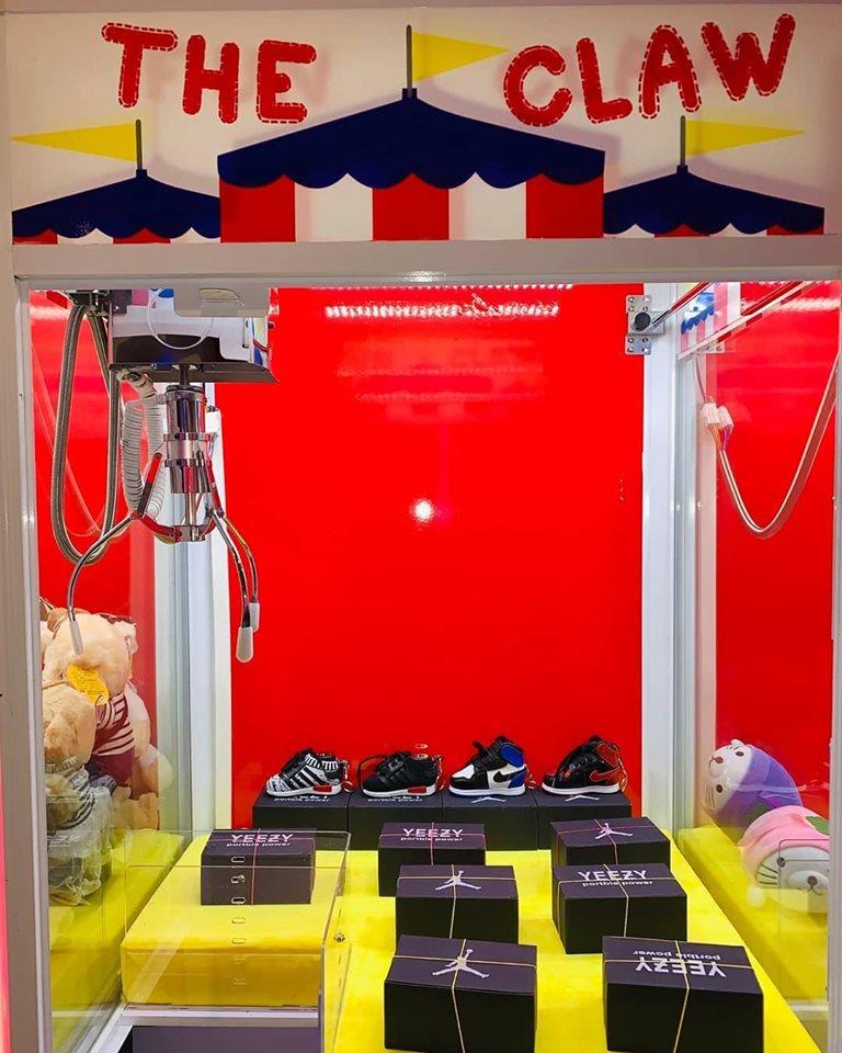 claw machine arcades 2019 yeezys