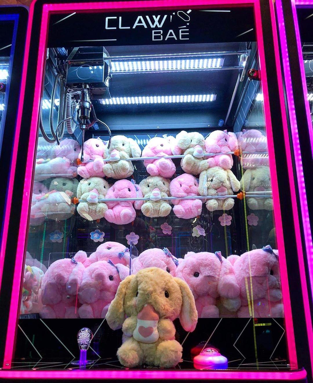 claw machine arcades 2019 bunny