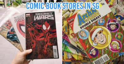comic book stores in Singapore