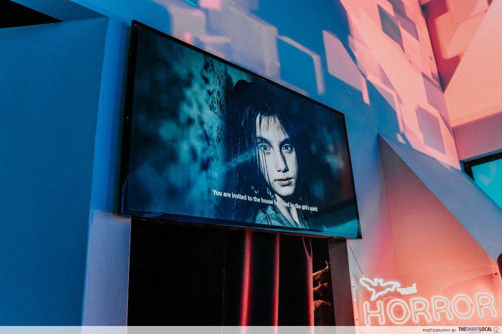 halloween events in singapore - headrock vr horror room