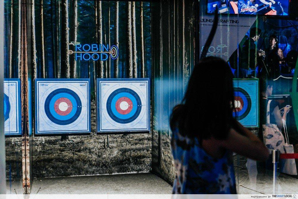 halloween events in singapore - headrock vr archery
