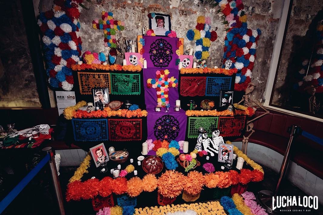 halloween events in singapore - lucha loco day of dead worship shrine