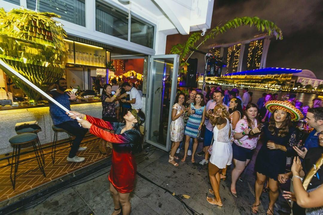 halloween events in singapore - super loco pinata bashing