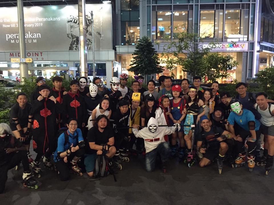 halloween events in singapore - halloween night skate 2019