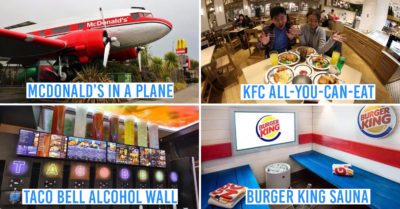 Insane Fast Food Restaurants in the World
