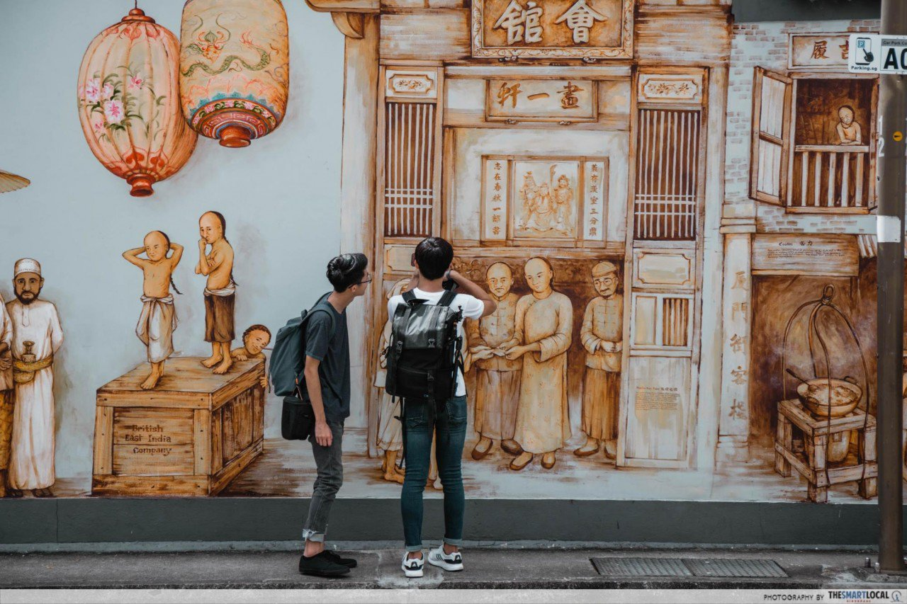 interesting singapore sites - thian hock keng mural