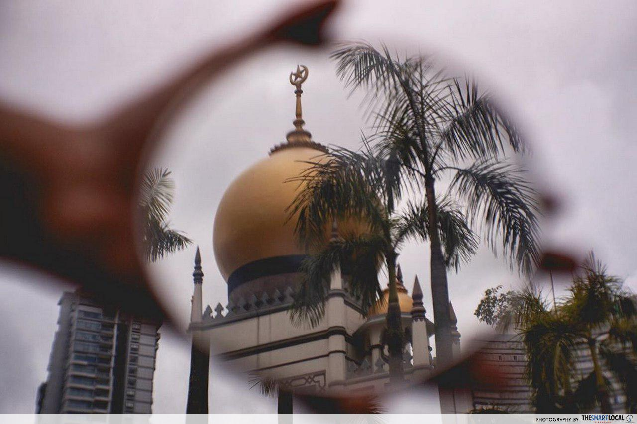interesting singapore sites - masjid sultan roof