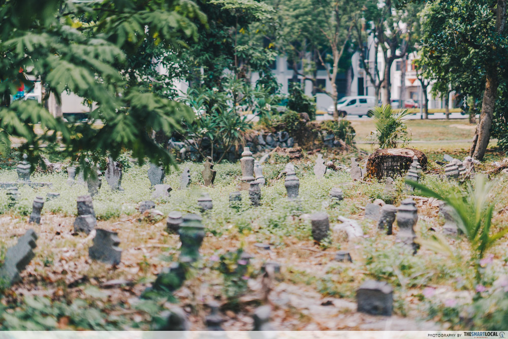 interesting singapore sites - jalan kubor cemetery