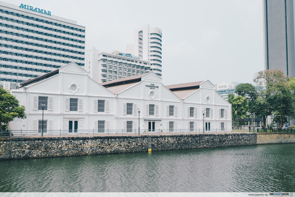 interesting singapore sites - the warehouse hotel