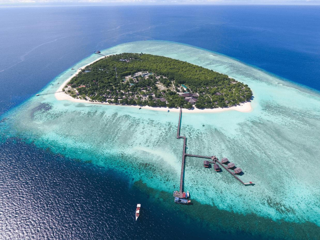 kota kinabalu resorts and hotels - pom pom island resort