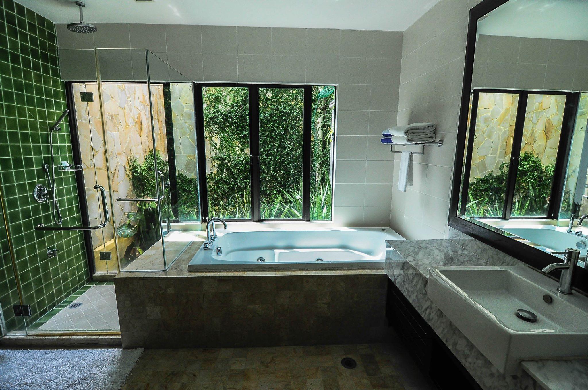 kota kinabalu resorts and hotels - borneo beach villas jacuzzi