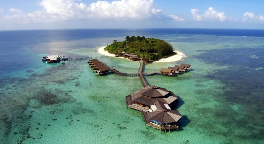 kota kinabalu resorts and hotels - lankayan island dive resort