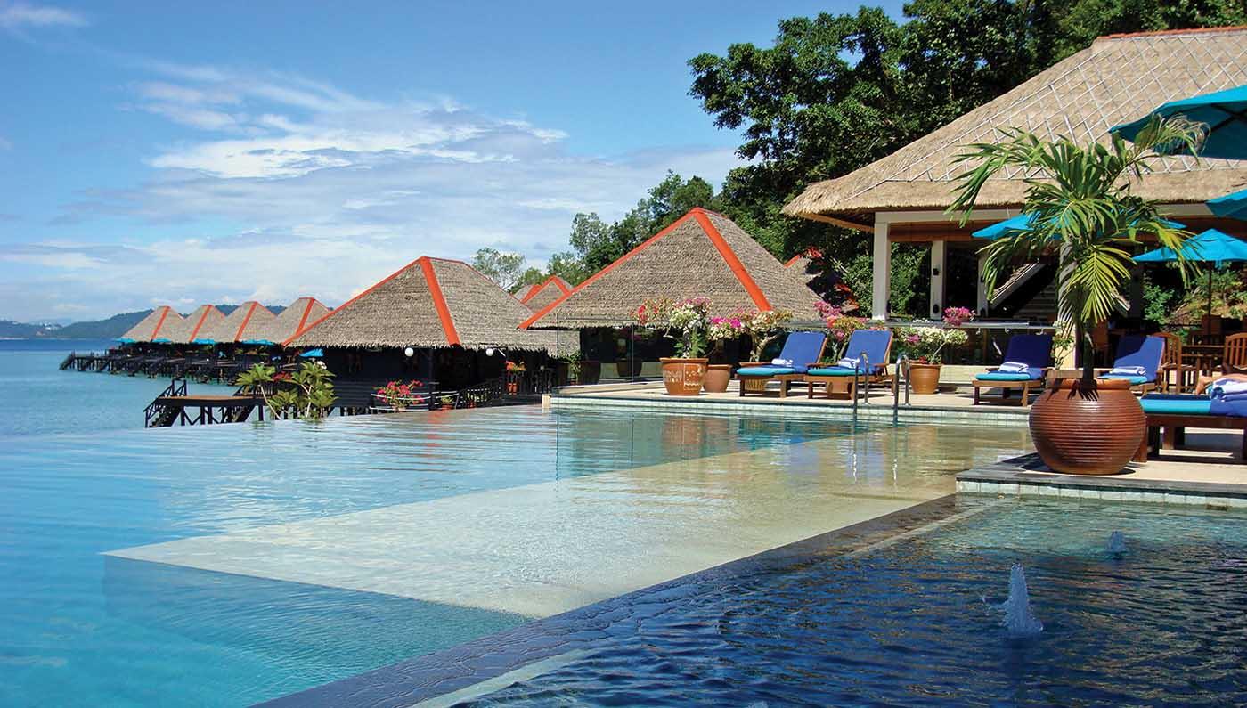 kota kinabalu resorts and hotels - gayana marine resort