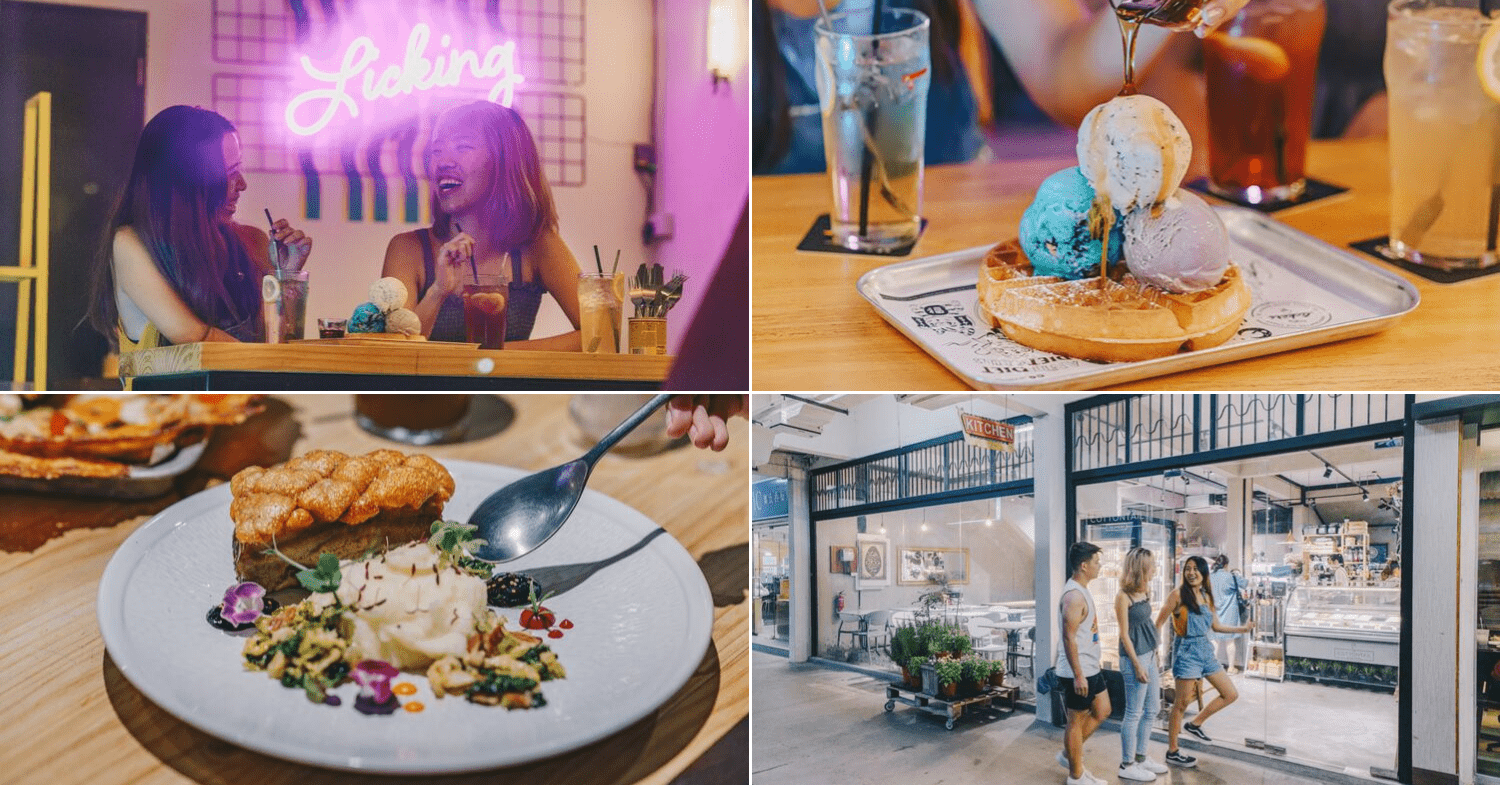Late night cafes in Singapore