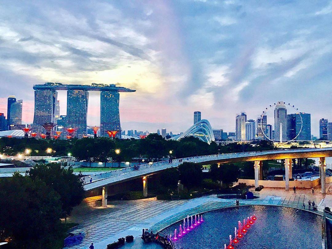 mispronounced english words - singapore skyline