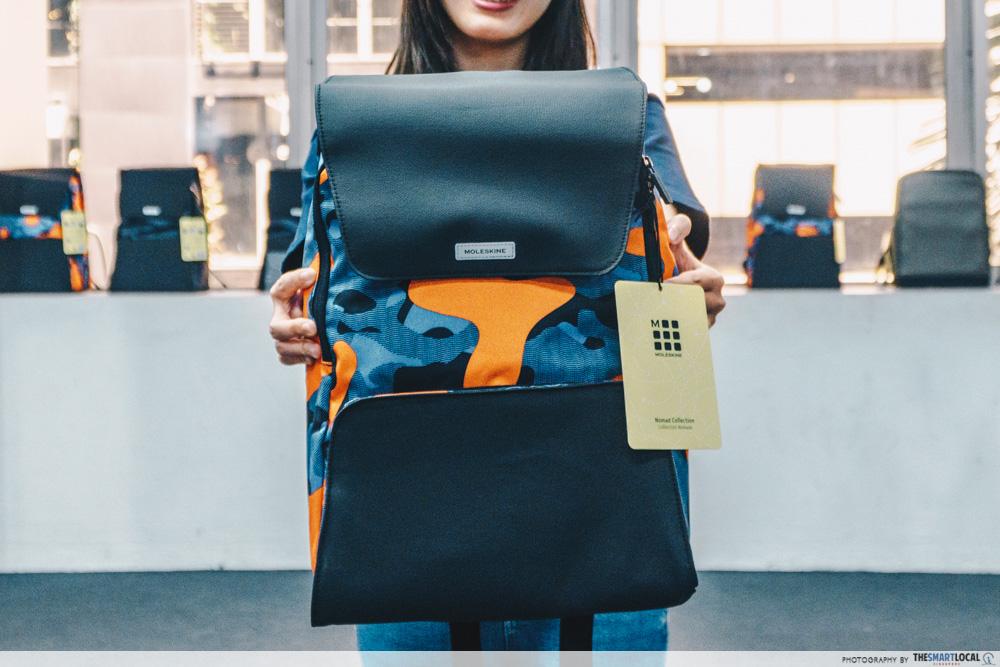 moleskine nomad backpack