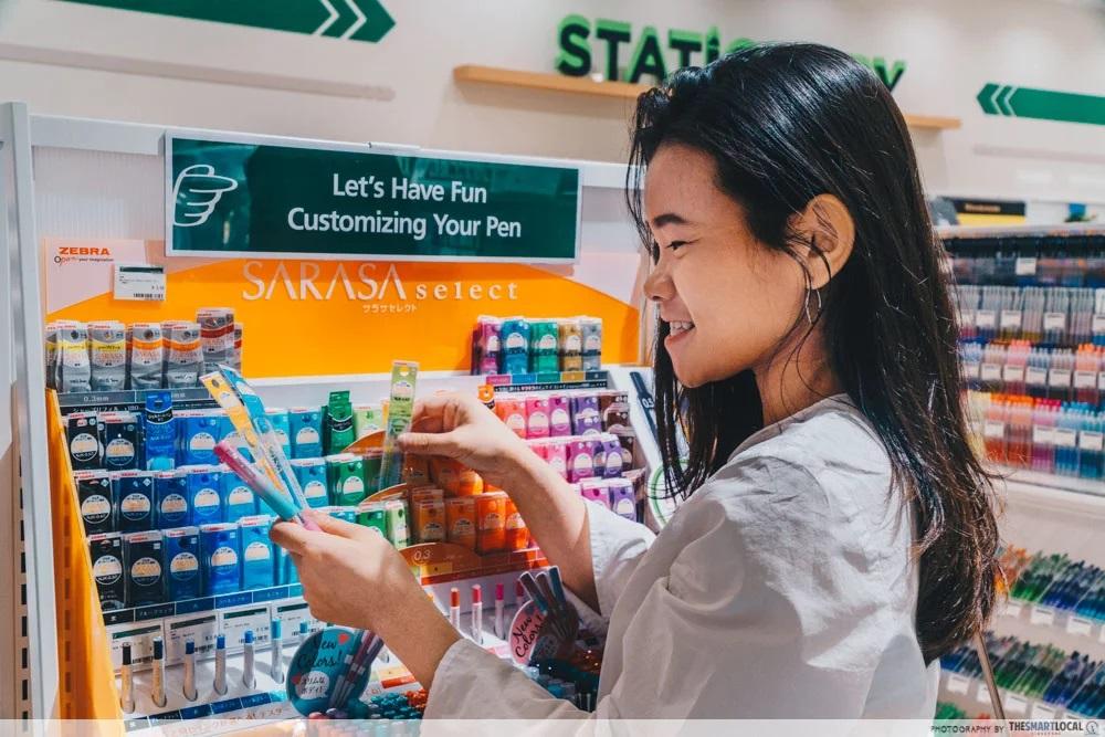 stationery shops singapore tokyu pen