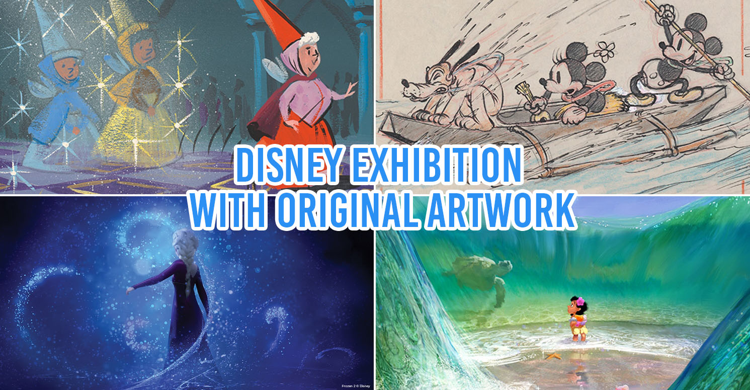 things to do in november 2019 - collage of disney exhibition