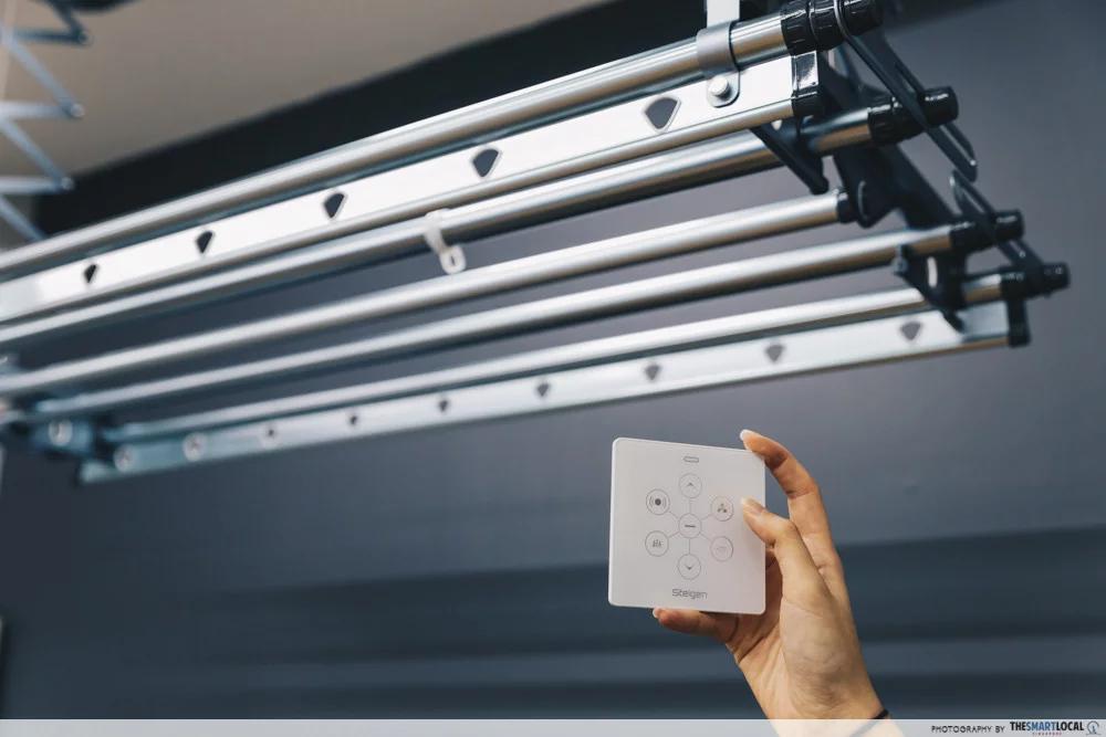steigen solar ultra laundry rack remote