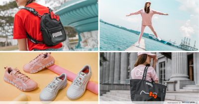 PUMA Hello Kitty Collection Streetwear Singapore Exclusive TheSmartLocal