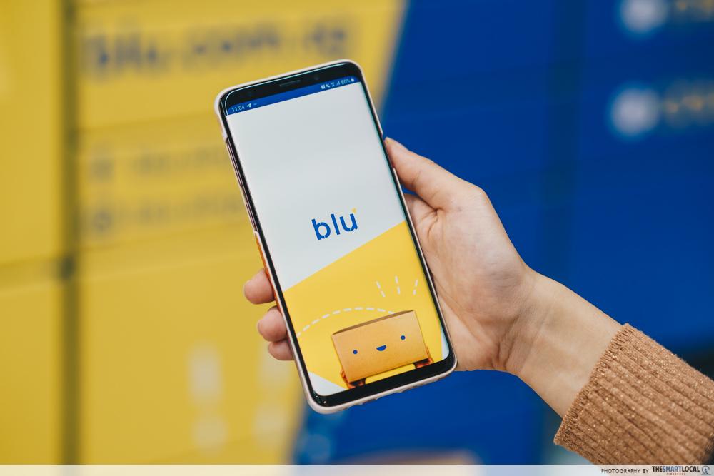 Blu app