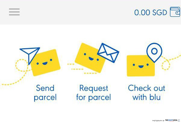 Blu - delivery services