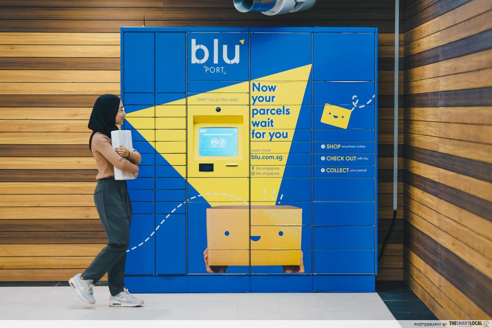 bluPort parcel lockers