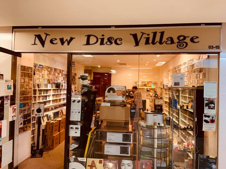 CD Shops in Singapore New Disc Village