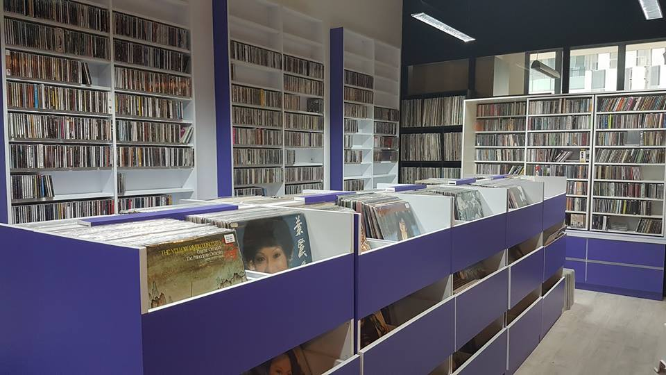CD Shops in Singapore QQ Music Store