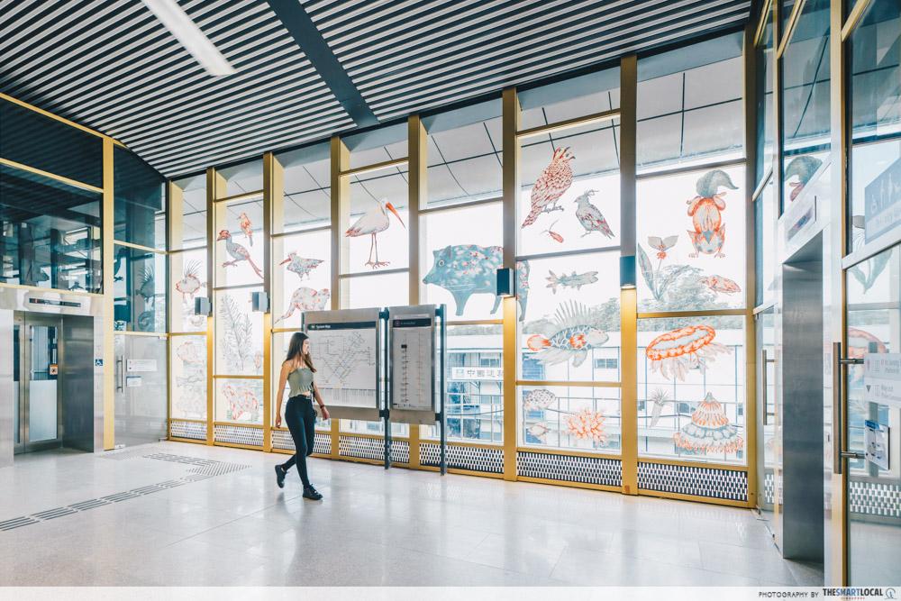 Canberra MRT Station Singapore New North