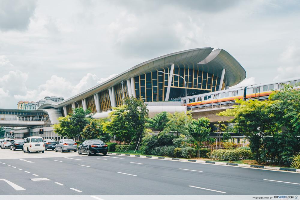 Canberra MRT Station Singapore North