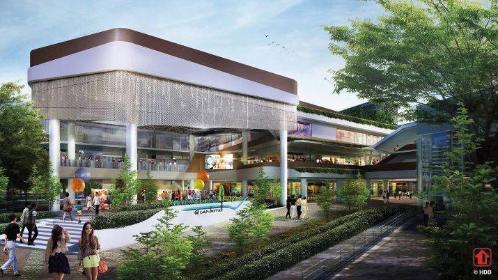Canberra Plaza Singapore North HDB Neighbourhood Centre