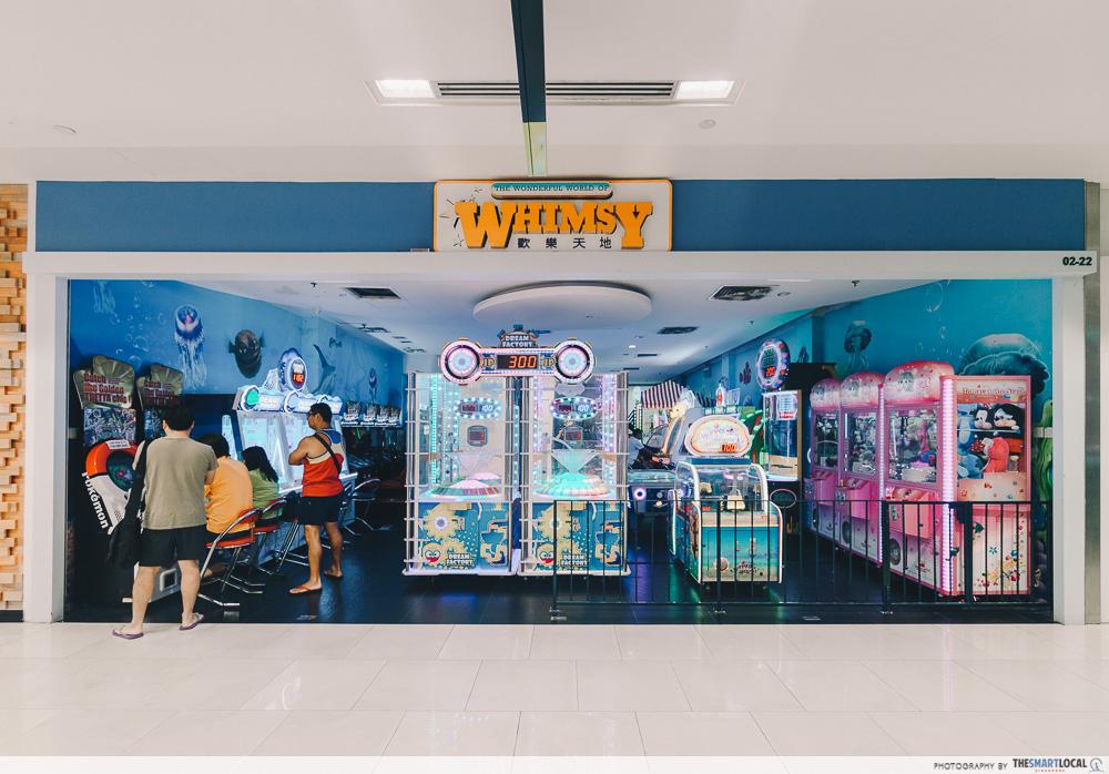 Whimsy Wonderland Arcade Sembawang Shopping Centre