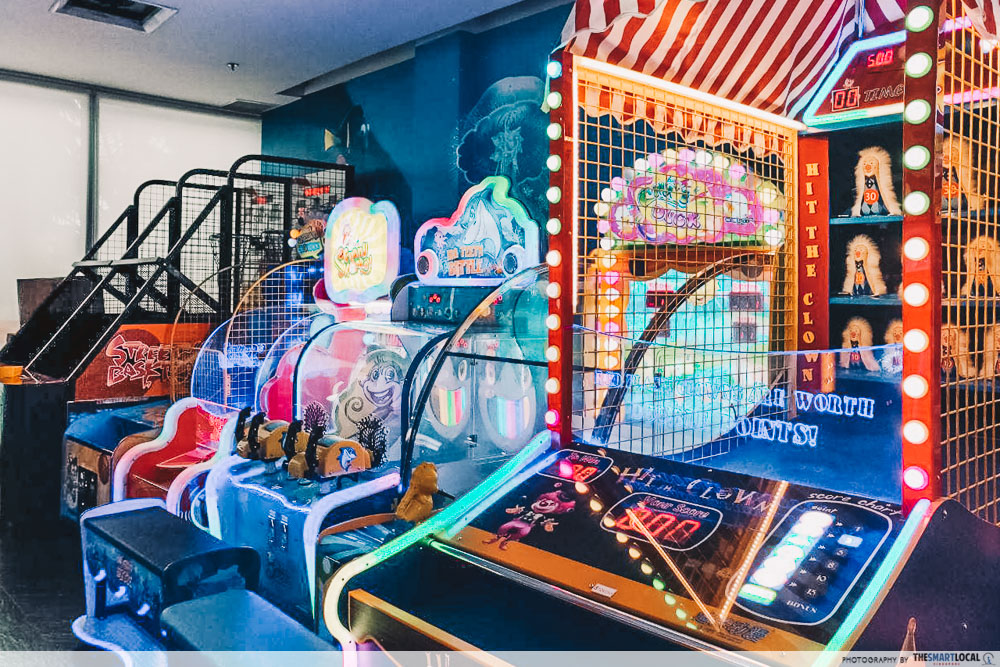 Wonderful World of Whimsy arcade Carnival Games