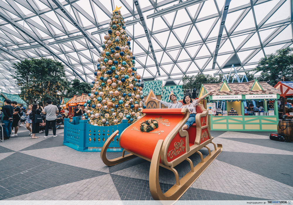 Image result for jewel changi airport christmas