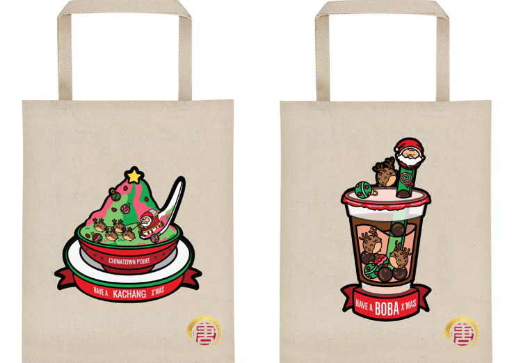 chinatown point totebag