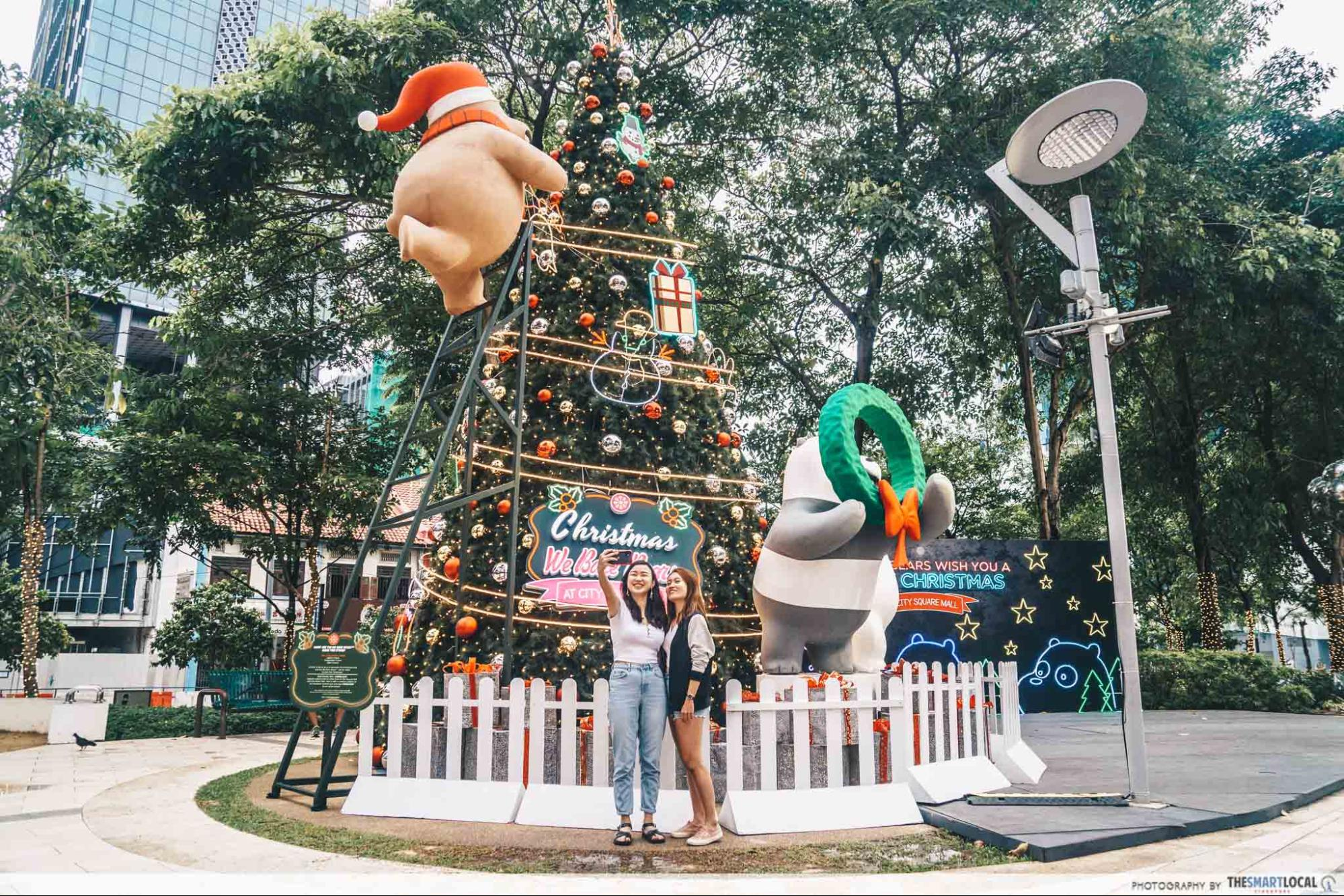 City Square Mall 2019 We Bare Bears Giant Christmas Tree