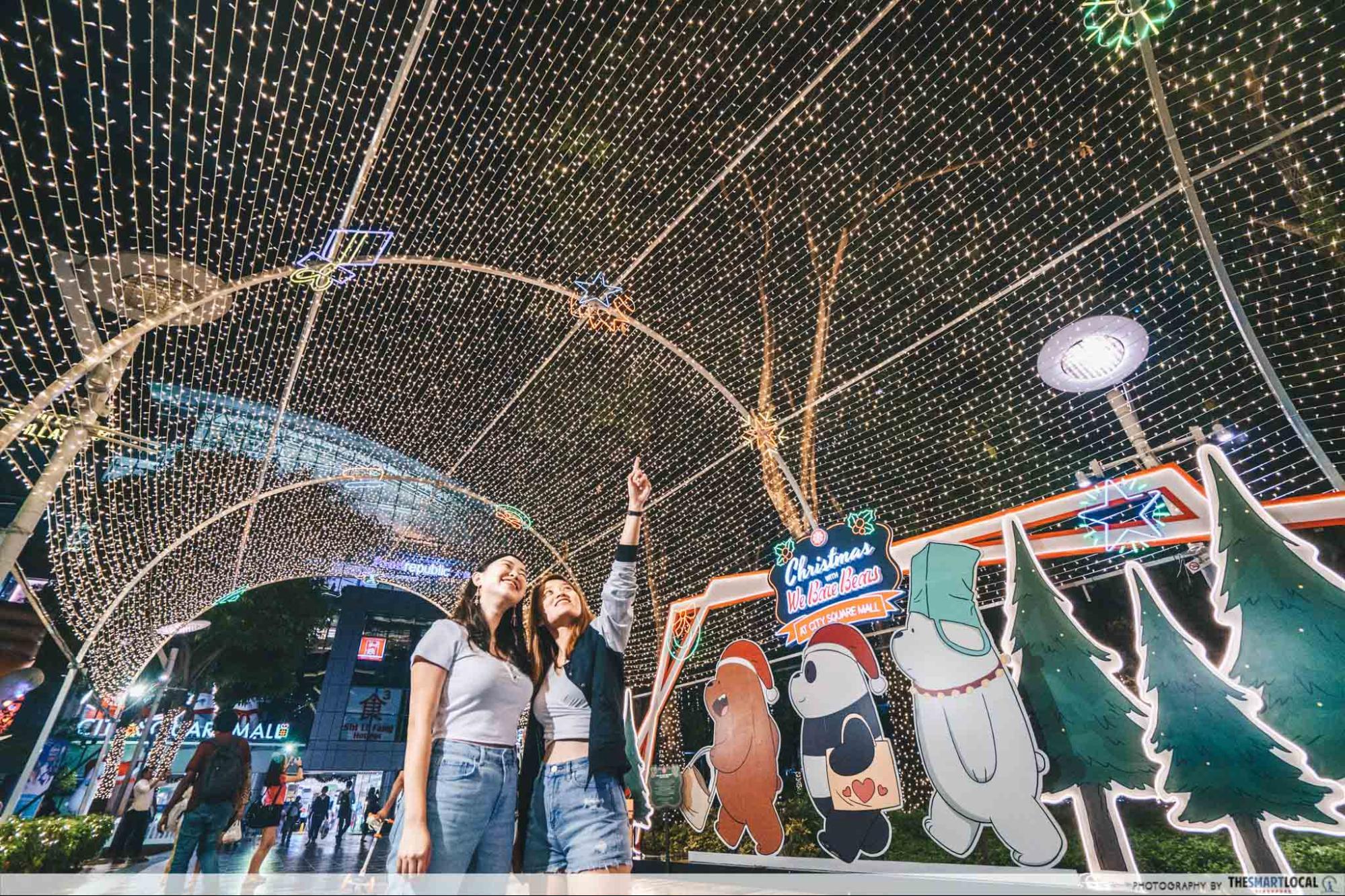 City Square Mall Christmas 2019 We Bare Bears Singapore
