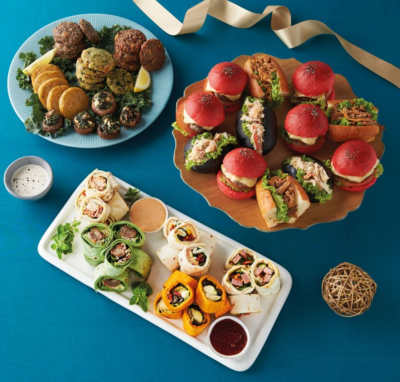 Christmas platters from Cold Storage
