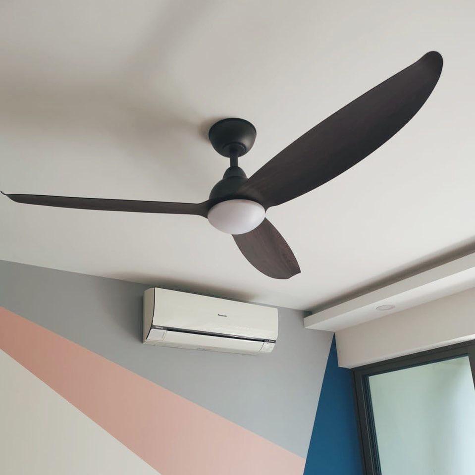 Ceiling fan anti-clockwise