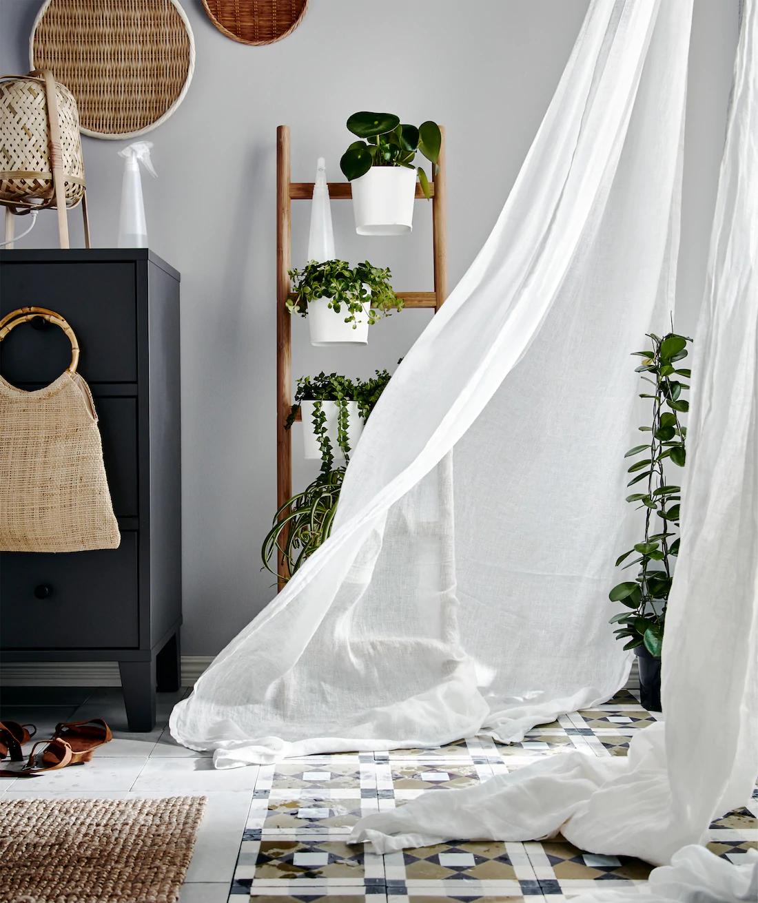 Mist curtains IKEA keep HDB cool