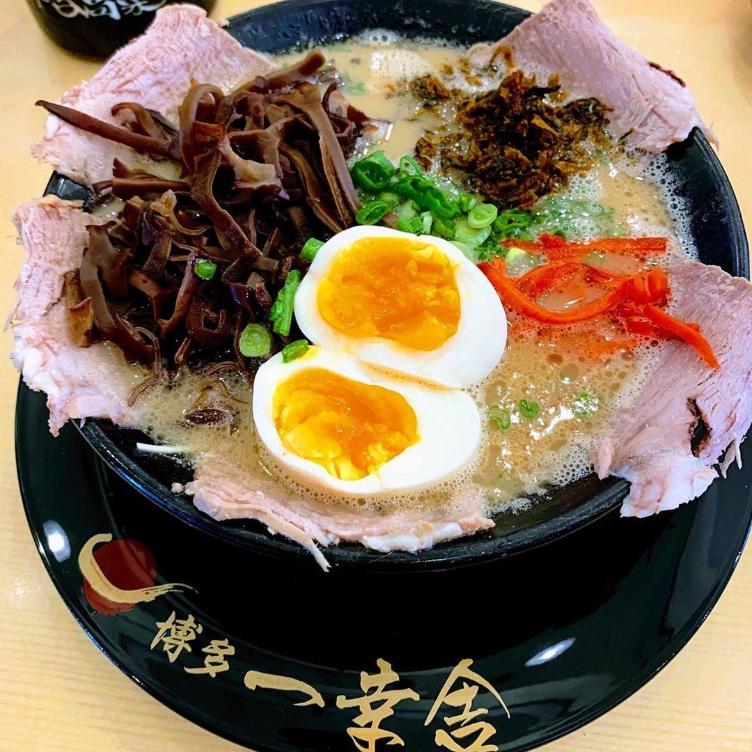 Ikkousha Hakata Ramen set lunch