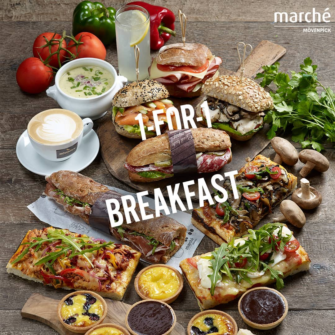 Marche breakfast 1-for-1