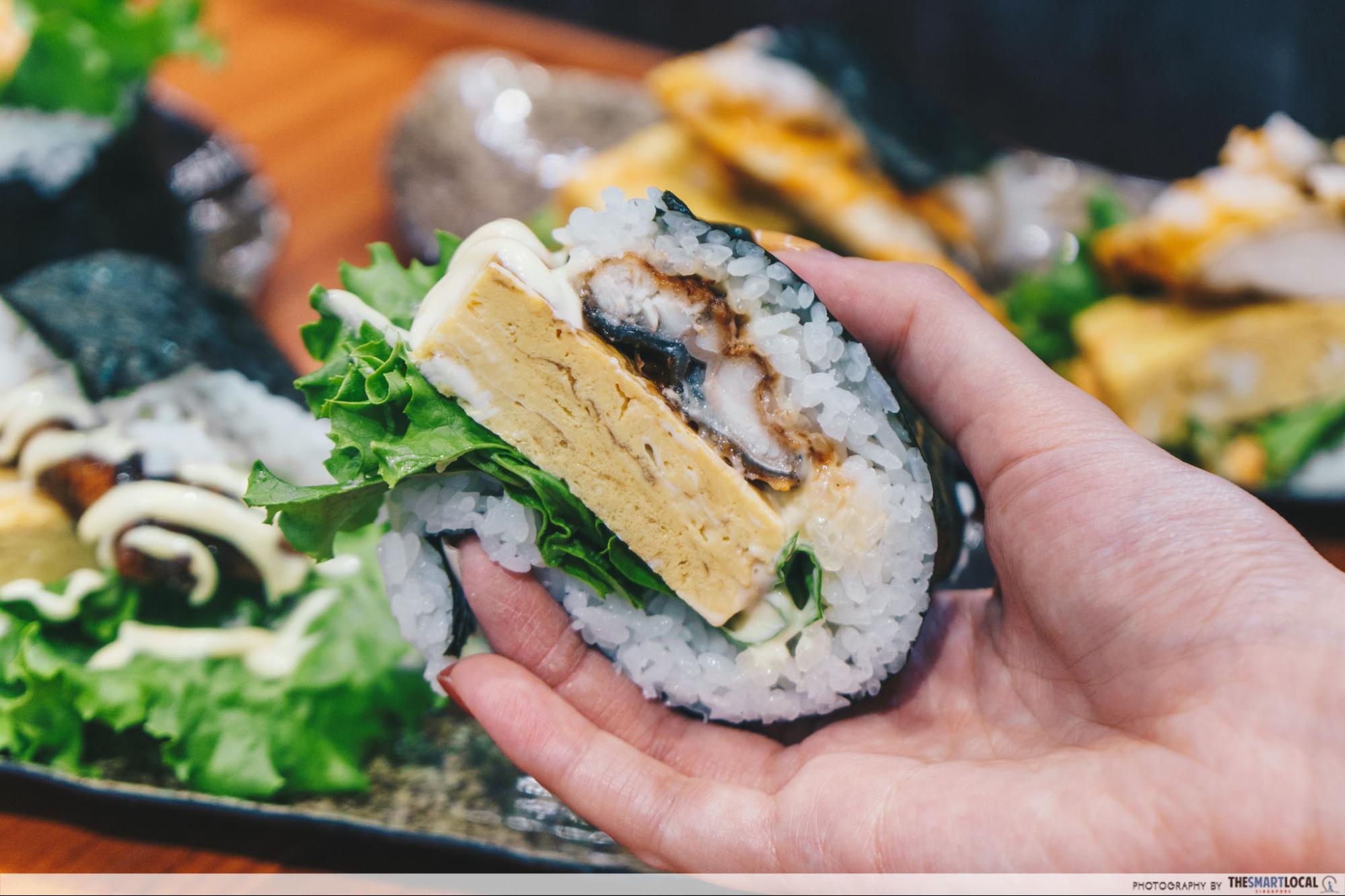 Don Don Donki - sushi burger