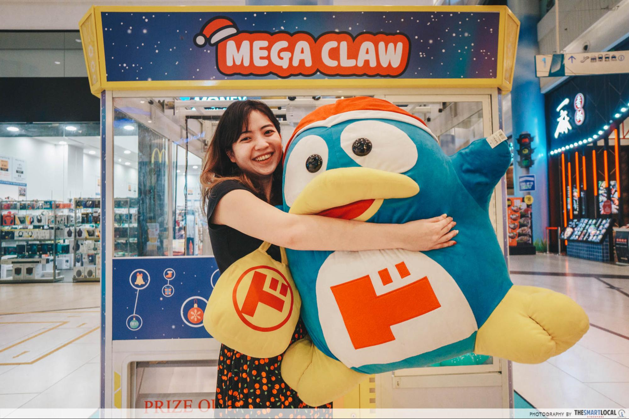 Donki claw machine
